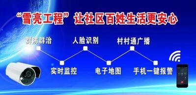"""""""雪亮工程"""",平安中国的迭代与升级"""