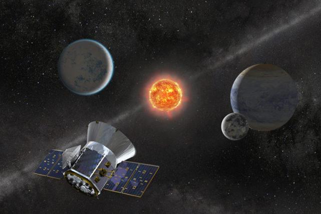 SpaceX成功将TESS送入轨道 开启系外行星研究新时代
