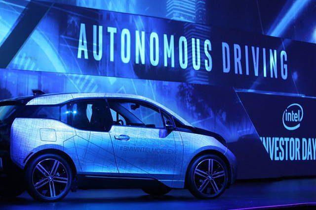 英特尔:2021年开始为汽车制造商提供自动驾驶系统