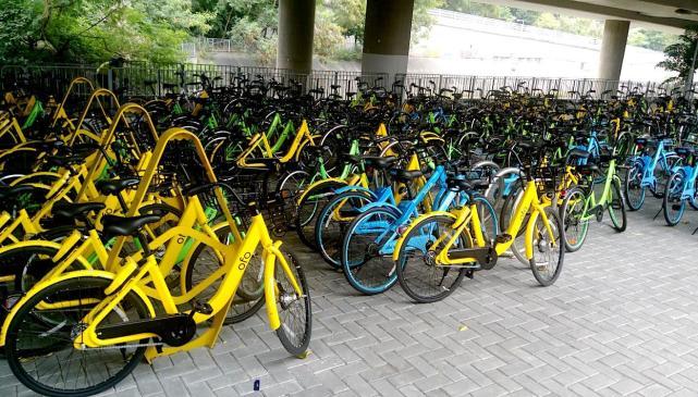 50%闲置 北京共享单车减量调控