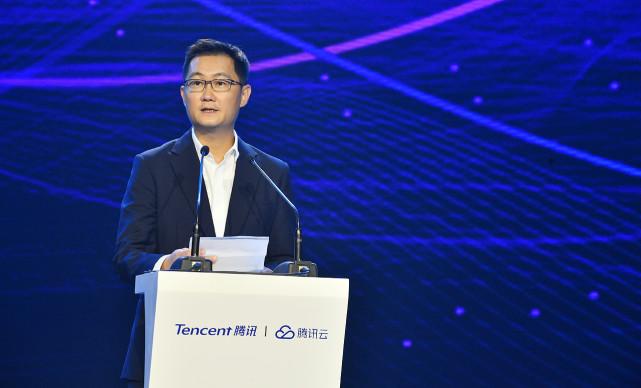 """马化腾:腾讯要在云时代构建""""三张网"""""""