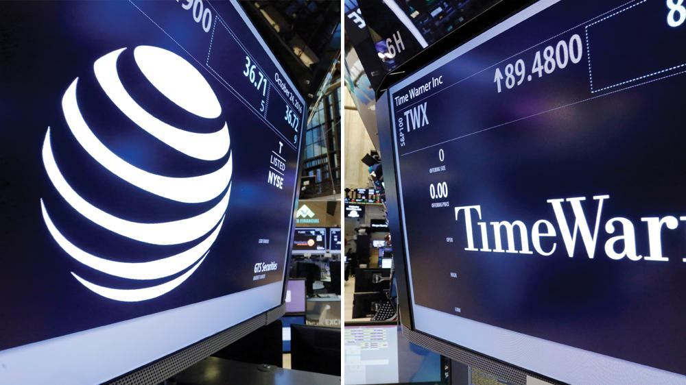 美国法官裁定AT&T可以收购时代华纳 价格850亿美元