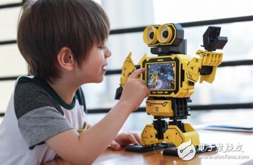 CES亚洲展上,深圳市寒武纪智能科技有限公司的编程教育机器人最牛