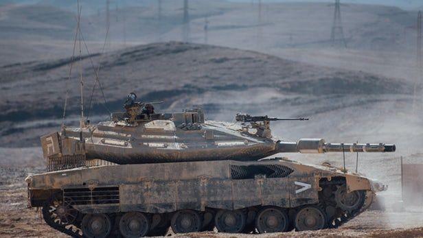 以色列推出人工智能系统的Merkava Mk 4 Barak坦克