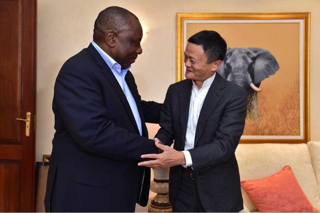 马云:阿里巴巴愿竭尽所能与非洲分享技术
