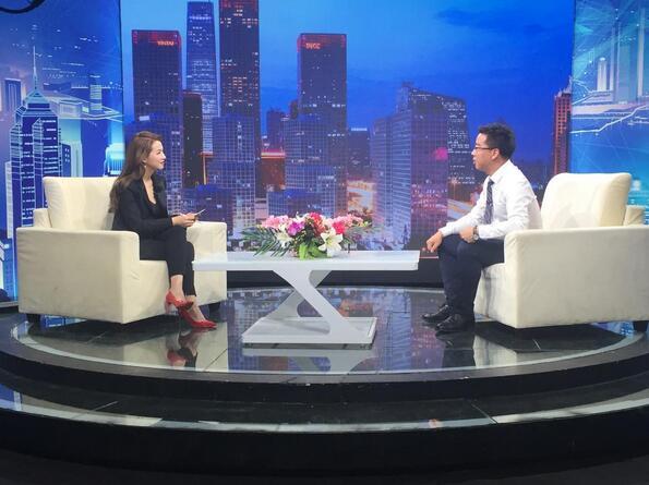 CCTV专访清研微视CEO张伟:AI时代探路者