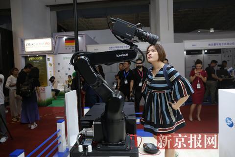 第二十七届北京国际广播电影电视展览会开幕