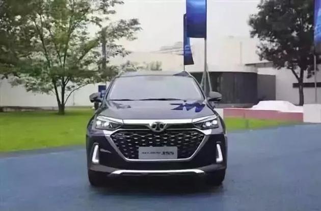 """北京汽车携首款AI SUV""""新一代绅宝X55""""亮相成都车展!"""