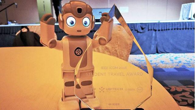 优必选机器人亮相IEEE ICDM 2018 助力全球AI学术研究和人才培养