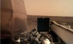 美国国家航空和宇宙航行局InSight着陆器提供火星着陆点的第一个清晰图像