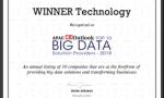 """汇纳科技荣获APAC CIOOutlook 2018年""""TOP10大数据解决方案提供商"""""""