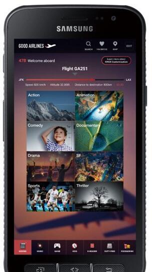 三星推出全新三防手机XCover4 5寸屏+可换电池
