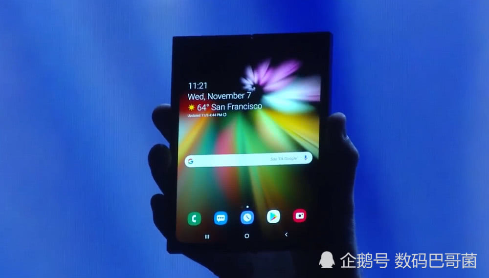 三星发布折叠屏手机预热视频:抢先华为5G手机亮相 售价破万