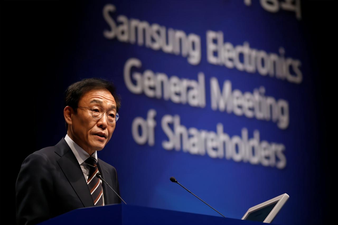 三星CEO:智能机市场增长乏力 芯片业务面临艰难一年