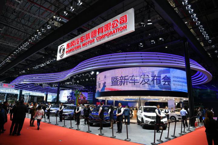 首款5G+L4级自动驾驶 东风Sharing-VAN概念车发布