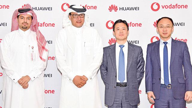 华为助卡塔尔沃达丰完成中东首次实时5G通话