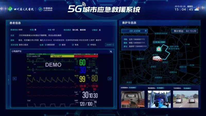 """5G赋能医疗急救,打通生命救援""""高速"""" ——中移成研院打造全国首个5G应急救援系统"""