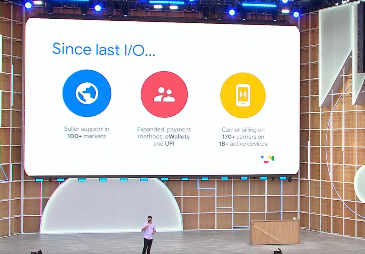 谷歌允许用户使用现金支付Android应用