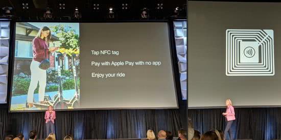 苹果宣布iPhone支持ApplePayNFC标签的功能 无需先下载特殊应用程序