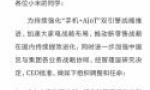 小米架构调整:雷军兼任中国区总裁,成立大家电事业部