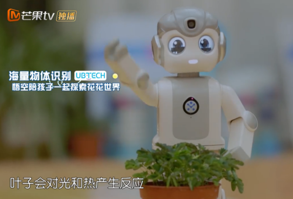 优必选悟空机器人成《童言有计2》萌娃探索知识的新助手!