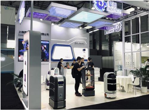 CES Asia2019正式开幕 擎朗机器人携两款新品精彩亮相