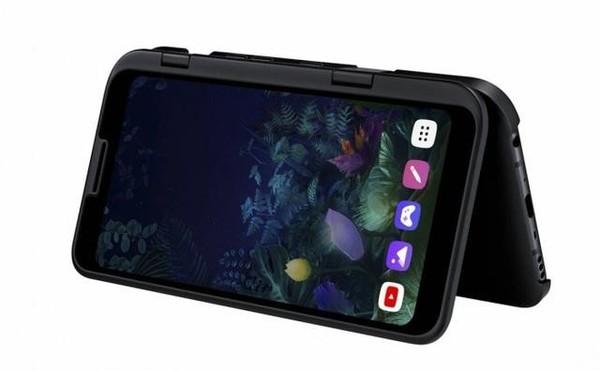LG多屏手机V60 ThinQ最新曝光 很可能配备三个屏幕