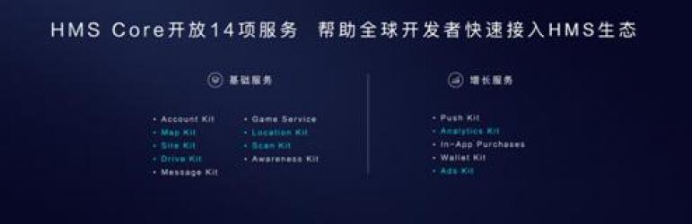 华为HMS核心服务全面开放 赋能开发者共筑智慧新生态