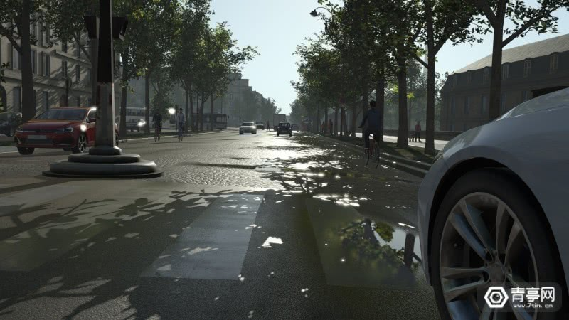 rFpro在VR进行自动驾驶测试,支持导入地图模型