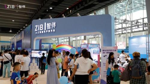 智伴科技亮相2019南国书香节,全系教育机器人惊艳吸睛B区少儿馆