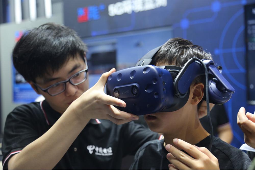 遇见智能 美好未来 天翼物联亮相2019年世界物博会