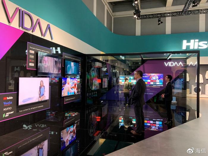 IFA 2019:海信VIDAA AI全球内容运营平台亮相