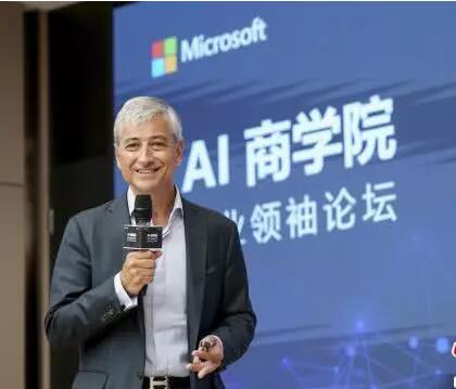微软联合清华助中国企业靠人工智能赢先机