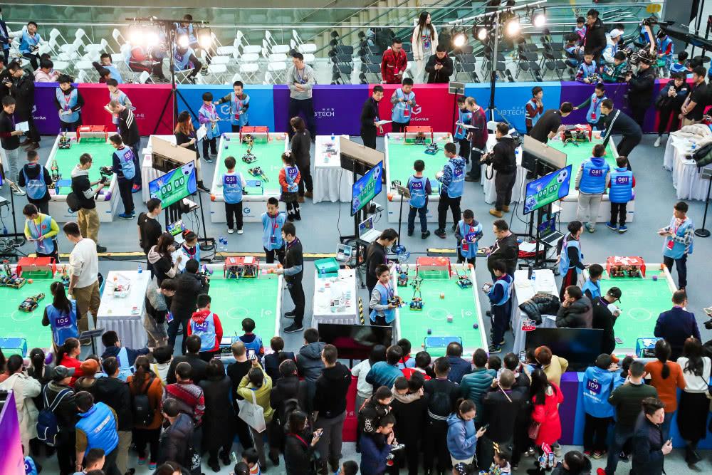 一场机器人竞赛背后,优必选科技逐渐浮现的教育大版图