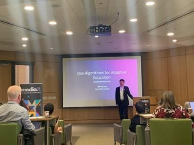 松鼠AI首席架构师Richard Tong受邀出席斯坦福MediaX大会