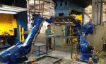自动机器人在工业领域中提高了工作效率