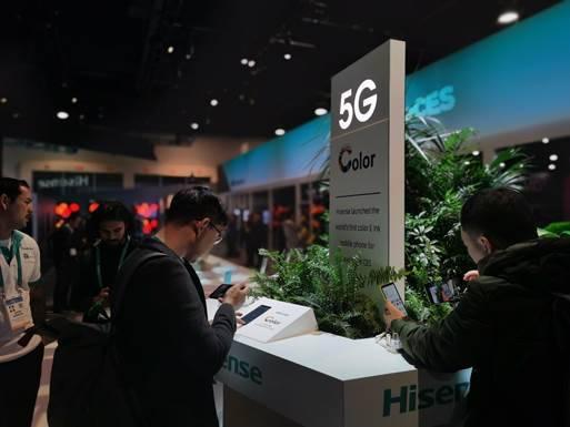 海信CES 2020发布全球首款彩色水墨屏阅读手机