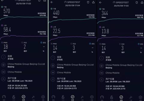 北京城最新5G测速出炉,中国移动的5G覆盖情况到底如何?