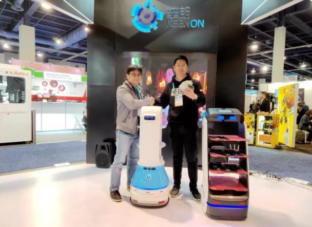 "2020 CES圆满闭幕 ""中国智造""送餐机器人未来可期"