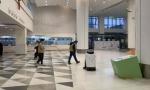AI战疫 5G云端清洁消毒机器人服务上海市儿童医院