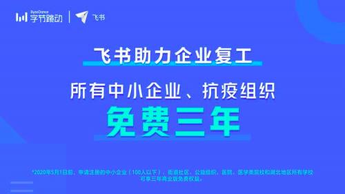 飞书负责人谢欣:用户包括有几十万人的公司