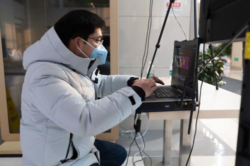 旷视AI测温系统持续助力测温防疫,累计保障15000人出行