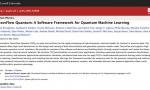 谷歌重磅发布TensorFlow Quantum:首个用于训练量子ML模型的框架