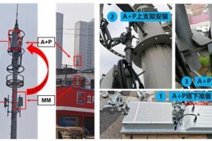 湖南电信携手华为开通省内首个5G A+P极简站点