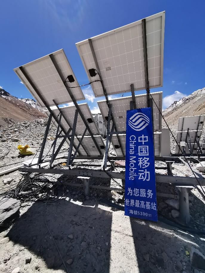 再创新高,中国移动5G+4K+VR带你在海拔5800米云端游珠峰