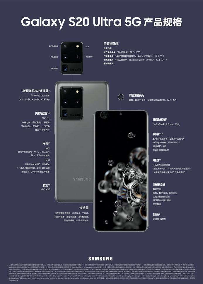 三星Galaxy S20 5G系列让旗舰回归聚焦性能本质的体验