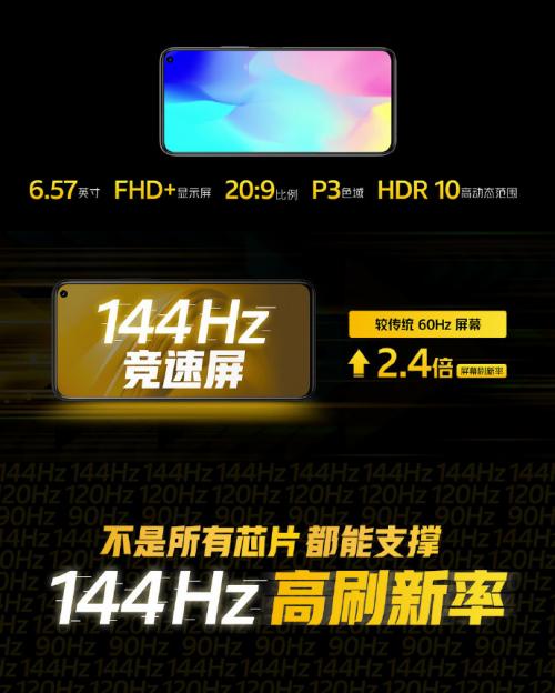 iQOO Z1在售,2200价位段机皇!