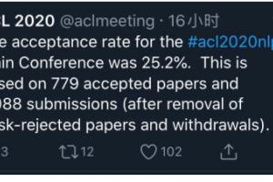 """AI领域""""奥赛""""ACL 2020放榜!腾讯连续入选27篇论文,技术实力亮眼"""