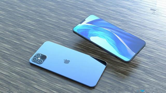 iPhone12概念图:支持反向无线充电,浴霸四摄刘海屏透明化设计
