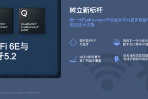 Wi-Fi 6E、蓝牙5.2合体!高通发布全球最快无线方案